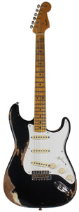 Fender Custom Shop Heavy Relic 1958 Stratocaster, Aged Black