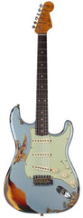 Fender Custom Shop 1961 Stratocaster - Faded Ice Blue Metallic o/ 3TS - Special Run