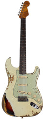 Fender Custom Shop 1961 Stratocaster - Aged Olympic White o/ 3TS - Special Run