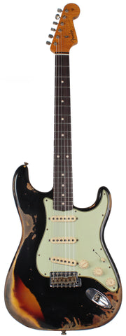 Fender Custom Shop 1961 Stratocaster - Black o/ 3TS - Special Run