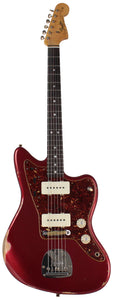 Fender Custom Shop Limited 1965 Relic Jazzmaster, Aged Fire Mist Red