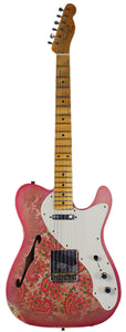 Fender Custom Shop LTD '50s Tele Thinline Relic, Pink Paisley