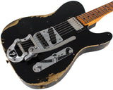 Fender Custom Shop Limited '50s Vibra Tele, Heavy Relic, Aged Black