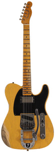 Fender Custom Shop Limited 50s Vibra Tele, Heavy Relic, Aged Butterscotch Blonde