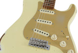 Fender Custom Shop 1956 Relic Roasted Strat, Aged Vintage White