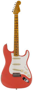 Fender Custom Shop 1956 Relic Strat Guitar, Faded, Aged Tahitian Coral