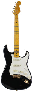 Fender Custom Shop 57 Vintage Custom Relic Strat Guitar, Black