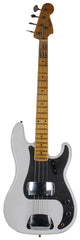 Fender Custom Shop Ltd Journeyman 58 Precision Bass, Opaque White Blonde