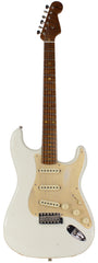 Fender Custom Shop LTD 58 Special Strat Relic, Aged Olympic White - NAMM