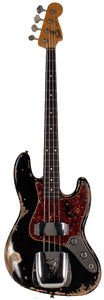 Fender Custom Shop Limited 1960 Jazz Bass, Heavy Relic, Aged Black