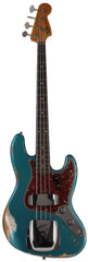Fender Custom Shop Limited 1960 Jazz Bass, Heavy Relic, Aged Ocean Turquoise