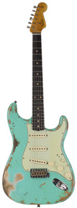 Fender Custom Shop 1960 Relic Stratocaster, Faded, Aged Sea Foam Green