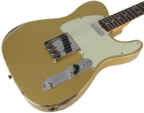 Fender Custom Shop 1961 Relic Telecaster, Aged Aztec Gold