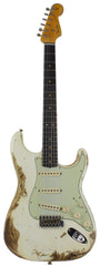 Fender Custom Shop 63 Stratocaster Limited, Super Heavy Relic, Faded Aged Olympic White