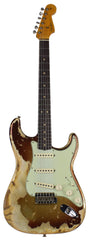 Fender Custom Shop 1963 Super Heavy Relic Stratocaster, 3-Tone Sunburst Sparkle