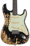 Fender Custom Shop 1963 Super Heavy Relic Stratocaster - Super Faded Aged Black