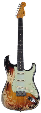 Fender Custom Shop 1963 Super Heavy Relic Stratocaster - Faded 3-Tone Sunburst