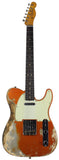 Fender Custom Shop LTD 63 Telecaster, Super Heavy Relic, Faded Aged Candy Tangerine