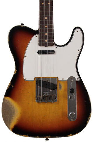Fender Custom Shop 1964 Telecaster Custom, Heavy Relic, Aged 3-Color Sunburst