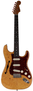 Fender Custom Shop Artisan Stratocaster Thinline - AAAA Maple Flame Burl Top