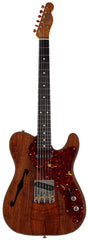 Fender Custom Shop Artisan Koa Thinline Telecaster Guitar, Aged Natural