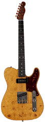 Fender Custom Shop Artisan Burl Maple Telecaster, Aged Natural