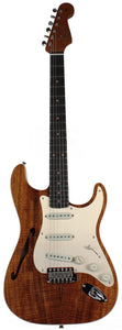 Fender Custom Shop Artisan Thinline Koa Strat, NOS