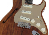 Fender Custom Shop Artisan Thinline Koa Strat, NOS - Humbucker Music