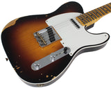 Fender Custom Shop Ltd Relic Double Esquire Special, Wide Fade 2TS