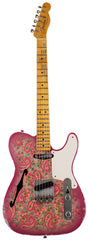 Fender Custom Shop LTD Double Esquire Thinline Custom Relic, Aged Pink Paisley
