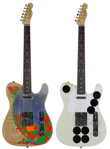 Fender Custom Shop Jimmy Page Dragon / Mirror Masterbuilt Telecaster Set