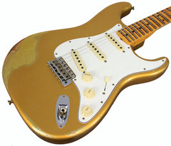 Fender Custom Shop LTD '64 Special Strat, Relic, Aged Aztec Gold over Gold Sparkle