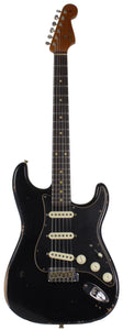 Fender Custom Shop Limited Roasted Poblano Strat, Relic, Aged Black