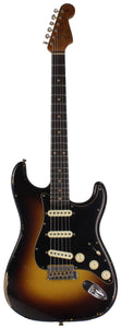 Fender Custom Shop Limited Roasted Poblano Strat, Relic, Wide Fade Sunburst