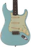 Fender Custom Shop Limited 1960 Relic Stratocaster, Aged Daphne Blue