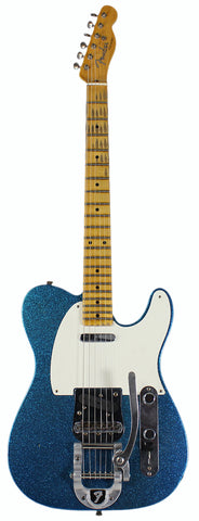 Fender Custom Shop LTD Twisted Tele Journeyman Relic, Aged Blue Sparkle