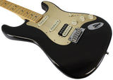 Fender American Ultra Stratocaster HSS, Maple, Texas Tea
