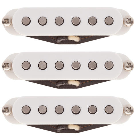 Suhr V63 Single Coil Set, Neck, Middle, Bridge, White