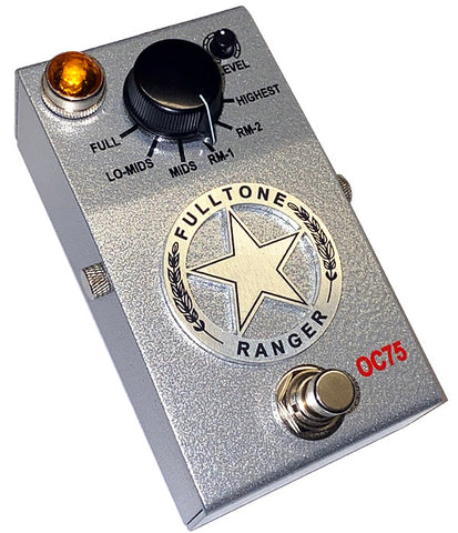 Fulltone Custom Shop Limited Edition Ranger OC75 Treble Boost Pedal