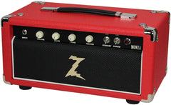 Dr. Z Monza Head - Red w/ Black Grill
