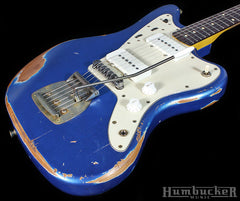 Nash JM-63 Jazzmaster Guitar, Lake Placid Blue