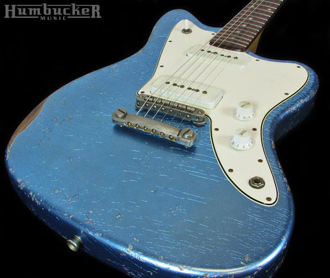 Fano JM6 Guitar in Ice Blue Metallic