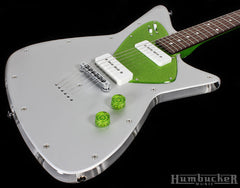 Fano Retrosphear Guitar in Saturn Green