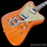 Fano PX6 Guitar in Round-up Orange w/ B5 Bigsby