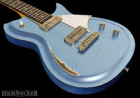 Fano RB6 Guitar in Ice Blue Metallic