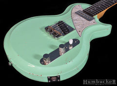 Fano SP6 Res-O-Surf Guitar - Surf Green