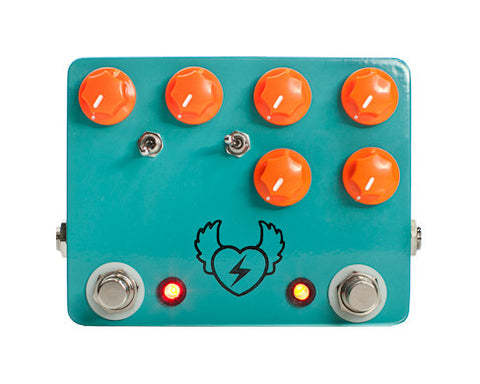 JHS Bun Runner Dual Fuzz Pedal - Version 2