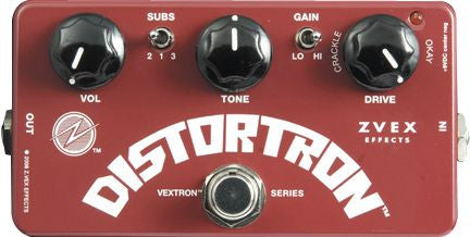 ZVEX Distortron Distortion Pedal