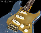 . Nash S-63 Guitar, Ice Blue Metallic w/ Gold PG