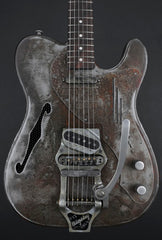 Trussart Deluxe Steelcaster w/ B16 Bigsby in Rust-O-Matic